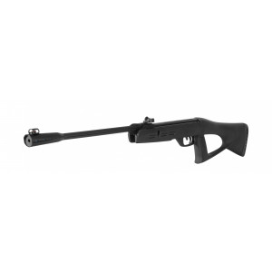 airgun gamo delta fox gt 4.5 Length: 94cm Weight: 2.0kg 4.5mm 160m/s 7J Delivered without scope Manual trigger safety 11mm mounting rail for scope Rubber Butt Pad