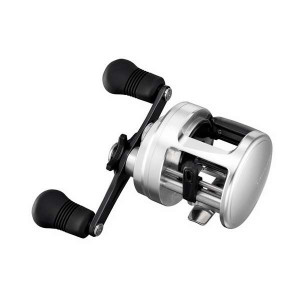 reel shimano calcutta 401d Model: CALCUTTA 401D Max Drag (lbs.): 15 Line Capacity (lb-yds.): 12/330,14/260,20/160 Features: Lefthand, Round Baitcasting Reel, Aluminum Spool, Anti-Reverse, Enhanced Gear Train, Gear Support System, Low Profile Gear Ratio: 5.1:1 Ball Bearings: 4 Weight (oz.): 11.8 Fishing Type: Saltwater Fishing Fish Species: All Freshwater Line Retrieve/Crank (in.): 27 Hand Retrieve: Left-Handed
