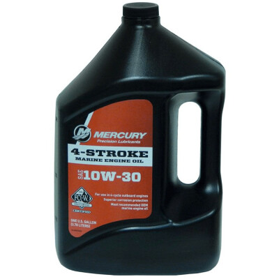 Specifically formulated and developed to meet the needs of: All 4-stroke outboard engines. – Developed for the rigors of the marine environment. – Industry-leading corrosion protection. – Features premium-grade synthetic and mineral-based stocks with specially designed marine grade additives not required in automotive oils. – Outstanding lubricity for internal engine components to reduce wear, scuffing and scoring. – Excellent running quality and long-term reliability. – Rigorously tested to guarantee warranty protection for Mercury and Mariner 4- Stroke outboards.