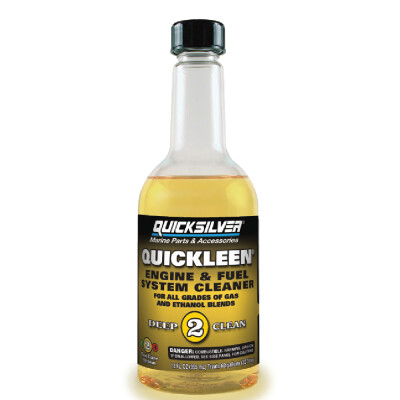 Fuel additives keep your fuel optimized, protect your fuel system, and remove any leftover deposits. With the Quicksilver Fuel Care System, you can trust that you're using products that are specially formulated - by the same people who design Mercury engines. It's as easy as 1, 2, 3 – regardless of whether you use ethanol- or non-ethanol-blended fuels.