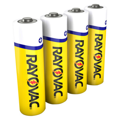 The Rayovac 3AAA 4F Zinc Carbon AAA Battery Pack is a cost-effective power solution. The zinc-carbon formula is ideal for low-drain devices like clocks, radios and remotes, so they function properly and work longer. This four pack of AAA batteries can be stored conveniently in your home for use now or later and will keep until the date printed on the battery. Use the Rayovac AAA batteries for your everyday needs or store them for emergencies. These batteries are an economical option as well.